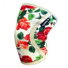 5MM Knee Sleeves Flower Pattern | Gorila Fitness