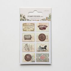 Stamp Stickers : Antique – Dailylike Australia