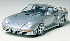 Tamiya 1/24 Porsche 959 TAM24065 Plastic Model Kit-Assembly Required. Glue and Paint sold separately.  #Tamiya #Toy