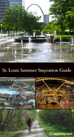 Planning a staycation or vacation in St. Louis? If so check out this St. Louis Summer Staycation Guide with tons of activities and events that the entire family will love!