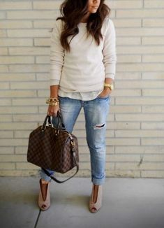 15 Mequeme Winterbrunch-Outfits für Mädchen - Lilly is Love Look Fashion, Street Fashion, Womens Fashion, Fashion Trends, Fall Fashion, Looks Chic, Looks Style, Fall Winter Outfits, Autumn Winter Fashion