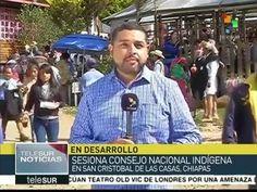 MÉXICO: INICIA EN CHIAPAS ASAMBLEA DEL CONGRESO NACIONAL INDÍGENA (teleSUR)