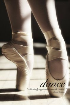 want more ballet quotes? than like my board 'ballet' Pointe Shoes, Ballet Shoes, Ballet Feet, Ballet Dancers, Toe Shoes, Ballet Kids, Tumblr Ballet, Baile Jazz, All About Dance