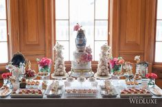 WedLuxe– A Parisian-Inspired Bridal Shower | Photography by: Krista Fox Photography Follow @WedLuxe for more wedding inspiration!