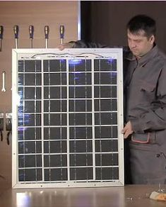 Build your own solar panels. Now you can build a single panel or a complete array of panels to power your home for a fraction of retail cost