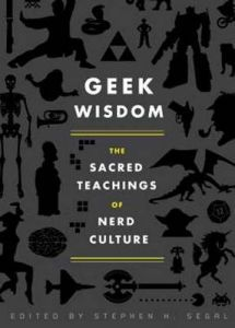 Whether you know a full time or casual nerd, there's always something for their geeky soul. Geek Wisdom: The Sacred Teachings of Nerd . Book Club Books, The Book, My Books, Book Nerd, Book Lists, Lps, Wisdom Books, Comic Book Superheroes, Comic Books