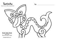 Teacher and parent colouring sheets and activities Waitangi Day, Waka Waka, Maori Designs, Maori Art, Preschool Learning, Child Development, Art Google, New Art, New Zealand