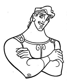 42 best Hercules images on Pinterest   Coloring pages, Coloring ...