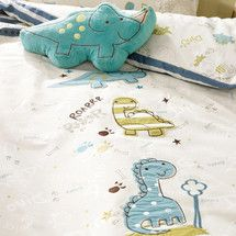Kids Roaring Dino Collection Duvet Cover Set | Dunelm