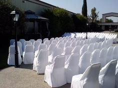 A 200 person wedding ceremony on our courtyard Color Palate, Neutral Tones, Event Venues, Fundraising, Special Events, Wedding Ceremony, World, Life, Outdoor
