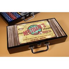 Personalized Bait & Tackle Poker Set - $99.99