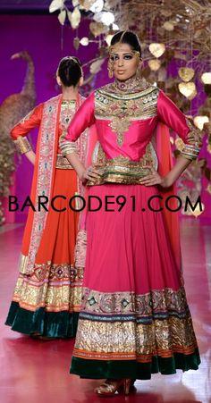 http://www.barcode91.com/designers/ritu-beri-s.html Ritu Beri's Collection inspired from the culture of punjab at PCJ Delhi Couture Week 2013.