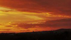 Desde las Islas Canarias  ..Fotografias  : Atardecer sobre el Tablero de Maspalomas en Gran C...