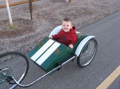 Picture of Race car bike trailer