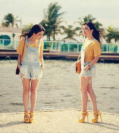 Blog da Lê-Moda e Estílo: No look jardineira jeans by Malacco