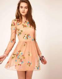 Resultado de imagen para vestidos de primavera floreados