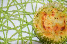A Culinária e Eu ...: Flans de courgette e Quark