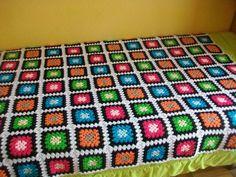 colchas tejidas a crochet - Buscar con Google
