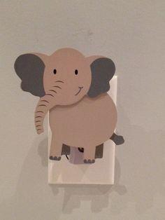 Noah's Ark  Elephant Night Light  Jungle Night Light  by SwagMags