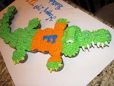 Gators Cupcakes!  Go Gators!