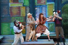 The cast of The Comedy of Errors at the final  dress rehearsal (6/24). Photo by Jay Yamada.