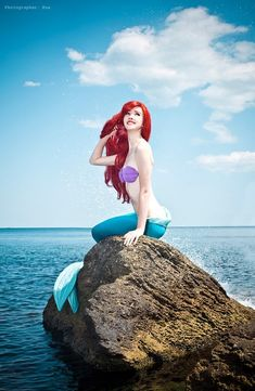 Ariel, The Little Mermaid, by Nelly Lafeison