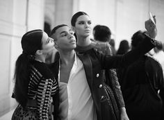It is a lifestyle | #MarcosdeAndrade _ @olivier_rousteing #balmain