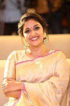 Keerthy Suresh At Pandem Kodi 2 Move Trailer Launch