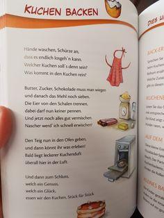 German Desserts, Kids Poems, German Language, Holiday Cocktails, Nursery Rhymes, Kids And Parenting, Literacy, Crafts For Kids, Songs