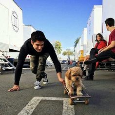 tyler posey, teen wolf, and dog image