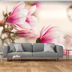 Carta da parati - Branch of magnolia tree