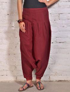 Pantalones de algodón del globo / holgados Aladdin genio / pescador hombre mono /Trouser pantalones / pantalón de las mujeres indias Yoga Bo...