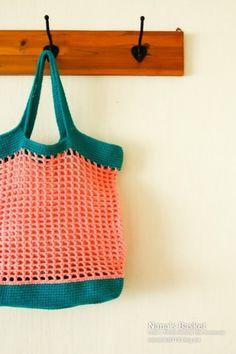 Love Crochet, Crochet For Kids, Knit Crochet, Crochet Handbags, Crochet Bags, Market Bag, Kids Hats, Chrochet, Lana
