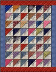 Free doll quilt patterns from Country Lane Quilts … Lap Quilts, Scrappy Quilts, Small Quilts, Mini Quilts, Quilt Blocks, Patchwork Quilting, Half Square Triangle Quilts, Square Quilt, Mini Quilt Patterns