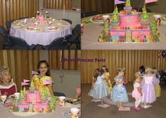 Disney Princess Birthday Party - Find more Princess party ideas at http://www.birthdayinabox.com/party-ideas/guides.asp?bgs=94