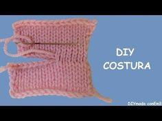 Cómo Hacer Costura Invisible en Tejido Dos Agujas / Video Tutoriales | Crochet y Dos agujas - Patrones de tejido