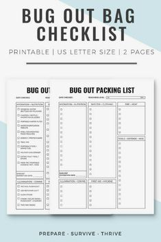 photograph regarding Printable Prepper List identify 8 Ideal Prepper Checklists and Printables illustrations or photos within 2018