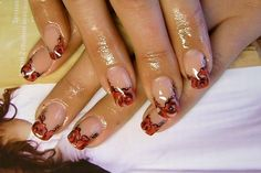 DECORATIVE FRENCH by Iryna from Nail Art Gallery