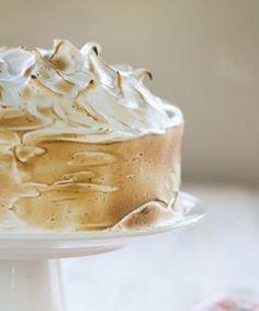 Orange Cake w/ Italian Meringue Frosting Recipe Meringue Frosting, Meringue Desserts, Cupcake Cakes, Cupcakes, Italian Meringue, Food Names, Cake Flour, Layer Cakes, Frosting Recipes