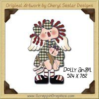 Dolly Angel Single Graphics Clip Art Download