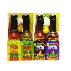 deathly hot sauce
