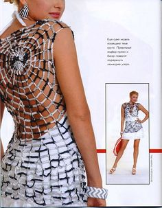 Zhurnal MOD Fashion Magazine 537 Russian knit and crochet patterns