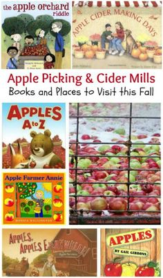 Apple Activities: Orchards, Cider Mills & Science activities & Math for preschool, kindergarten and elementary. Fall learning & family things to do in autumn! Apple Activities, Kids Learning Activities, Infant Activities, Science Activities, Fun Learning, Learning Resources, Fall Preschool, Preschool Kindergarten, Preschool Apples