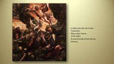 La pasión de Cristo siglo XVI, autor Tintoretto