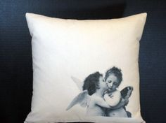 Pillow Kissing Cherubs