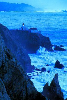 California - Pt. Bonita - Golden Gate Night Vt