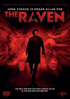 The Raven (2012) A mystery thriller about a madman who commits horrific murders inspired by Edgar Allan Poe's works. Description from pinterest.com. I searched for this on bing.com/images