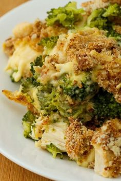 Chicken Divan Casserole with Broccoli