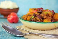 Marokkói sütőtök-tagine Potato Salad, Grains, Curry, Paleo, Rice, Potatoes, Vegan, Chicken, Ethnic Recipes