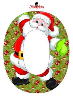 EUGENIA - KATIA ARTES - BLOG DE LETRAS PERSONALIZADAS E ALGUMAS COISINHAS: Natal - Alfabeto Noel + Presentinho